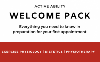 Active Ability's Welcome Pack – What to Expect From Our Services